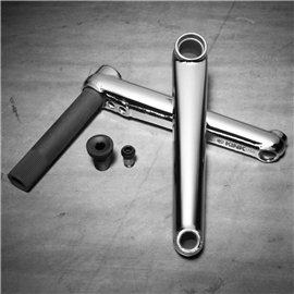Шатуны BMX Kink Pillar 24 175 мм. хром lifetime Warranty