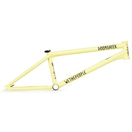 Рама BMX Wethepeople Doomsayer 2019 20.5 Mattt Pastel Yellow