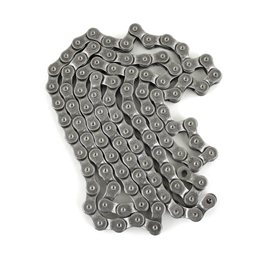Mission Half-Link gray BMX chain