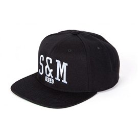 Cap S&M Shield Black