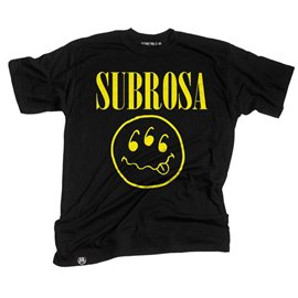 T-Shirts Subrosa Teen Spirit L Black